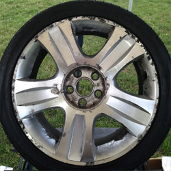 Mobile alloy wheel repair & refurbishment service across East Anglia, Essex, Suffolk, East Cambridgeshire and North London